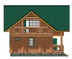 строительство деревяного дома сруб